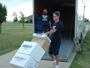 North Texas Moving Company - professional movers in the Dallas-Fort Worth Metroplex of Northern Texas